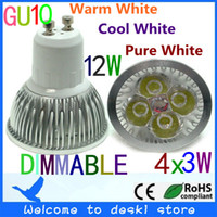 Wholesale x Dimmable W V V GU10 E27 MR16 E14 High Power LED Light Bulb Lamp Spotlight