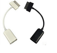 Wholesale Retail Ready USB OTG Connection Kit Cable For Galaxy Tablet Tab