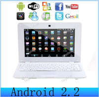 Wholesale 20pcs DHL Shipping inch mini Notebook Android WIFI Mhz CPU GB Camera Laptop