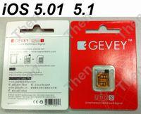 gevey 5.0 - Gevey Ultra S Turbo SIM Unlock Card for GSM iphone S iOS baseband