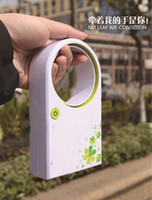 Wholesale HOT Miini No leaf air condition conditioner mini hand held refrigeration fan Battery or USB desktop