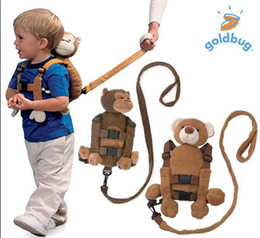 Wholesale 2012 Newest popular design Goldbug eddie bawer Anti lost child modeling strap Minnie backpack bag