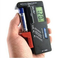Wholesale AA C D V Universal Button Cell Battery Volt Tester Battery Tester