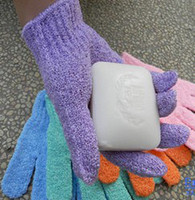 nylon bath glove - Shower Gloves Massage Gloves High Quanlity Nylon Bath Tools