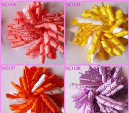 Gratuit enfants Shipping bigoudis arcs fleurs barrettes pour cheveux de bébé korker ruban cheveux clips 300pcs à partir de bigoudis de ruban fabricateur