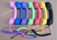 Wholesale Handset Phone for ipad colorful mm plug Mobile phone PC with Radiation Protection