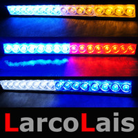 Wholesale 16 LED High Power Strobe Lights Fireman Flashing Police Emergency Warning Fire Flash Car Truck Light