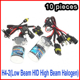 10 PAIRS 12V 35W H4-2(Low Beam HID High Beam Halogen) Xenon HID Replacement Bulb H13-2 9004-2 9007-2