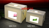 Wholesale Professional Portable Mini Photo Studio Photography Light Box Photo Box MK40 For Network EBAY sell