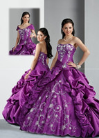 Hot sale Quinceanera Dresses Ball Gown Strapless Floor lengt...