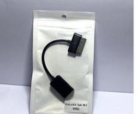 Wholesale EMS USB OTG Data Cable Connection Kit Adapter Cable For Galaxy Tablet Tab