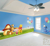art deco people - Pooh looking for friends Decor Art Wall Mural Deco Wall Sticker Children s room