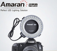 Wholesale Aputure AHL C60 LED Video Lights LED Ring flash Light Macro Flash light for Canon camera