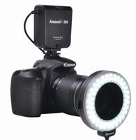 Wholesale Aputure LED Video Lights AHL C60 LED Ring flash Light Macro Flash light for Canon camera