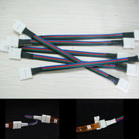Wholesale 30pcs RGB LED Flexible Strip Pin Female Connector Cable For SMD