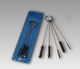Wholesale Tattoo Machine Tip Airbrush Wire Nylon Cleaning Brush Tubes Nozzle Gun For Beginner Complete Tattoo Kit