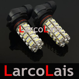 68 LED H10 SMD 1210 Car Head Fog Light Bulb White 68-LED 3528 12V Auto Lights 68LED Bulbs