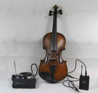Electric  4/4 size Right-handed free shipping Electric acoustic Violin Wireless audio transmission!!