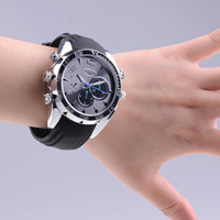 Wholesale New W5000 G GB P Waterproof Spy Watch Camera Night Vision DVR Motion Detection