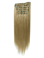 Wholesale XCSUNNY Grade B Clip in Hair Extensions quot quot quot quot quot Stock g set Luxy Remy Human Hair Extension CE11