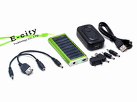 Wholesale Mixed Color Solar Battery Charger mAh Portable USB Chargers For MOBILE PHONE CAMERA PDA MP3 MP4