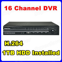 Wholesale 16 CH Channel TB GB Hard Drive CCTV H Net DVR Standalone HomeSecurity System Real Time