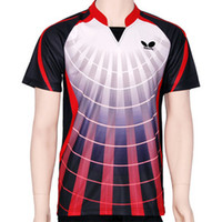 Wholesale butterfly Men s table tennis sportswear shirt
