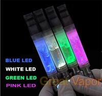 Wholesale 3 ml patent Clear Giant Cartomizer WITH LED for thread eGo EGO T EGO W pc
