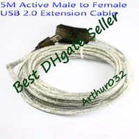 Wholesale Best Sale feet ft M Active Male to Female USB Extension Cable