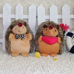 Stuffed Toys 18cm Hedgehog Doll Cute Lovers Plush Toys