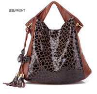 Wholesale 2012 hot Fashion PU Leather women s bags Handbag Shoulder bag Satchel tote Bag FD311