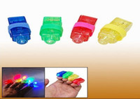 Unisex 0-12M PVC 20000pcs New finger Light led finger light laser finger Laser finger beams 4 colors Christmas Party