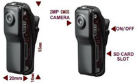 Wholesale DHL Fast shipping MD80 mini cameras Spy MINI DV Video Cameras Camcorder fps Sport DVR Good Quality
