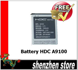 Wholesale Original Battery Replacement for HDC A9100 Dual Sim Android phone