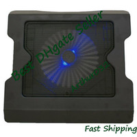 Wholesale Fashion New USB Led Fan Light Laptop Notebook Cooling Cooler Pad Black