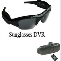 Wholesale DV DVR Hidden Recorder Video Camera spy Sunglasses Camera sun glasses camera GB Free