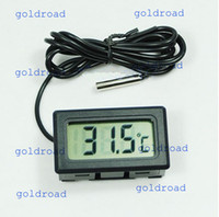 Wholesale Freeshipping New Aquarium LCD Digital Thermometer Fish Tank Water