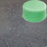 Wholesale Decorating Cake Tools Vines Embossed Fondant Imprint Mat food grade Silicon Through SGS