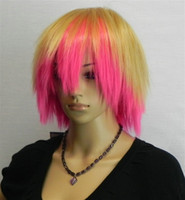 Wholesale Multi color Short Fashion Hot Sale Cosplay Wig party wig mix order
