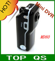 Wholesale GB GB GB optional DVR Sports Video Camera MD80 Hot Selling Mini DVR Camera amp Mini