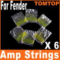 al por mayor string musical instrument-Instrumentos Musicales níquel guitarra acústica Cuerdas para Fender 6pcs / set 150XL / I60 .009in