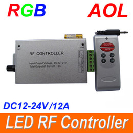 Wholesale Music control RF RGB LED Micro Audio Controller Remote for SMD RGB LED Strip light