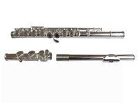 Wholesale best Limited FL silver C flute with hole flute E key in stock