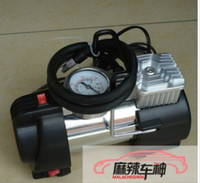 Wholesale New sales with a warning light new metal high power air pump car air pump