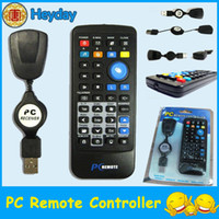 Wholesale USB Remote Control Controller PC Laptop Computer XP Vista Win7 portable Multi funtion Plug and Play