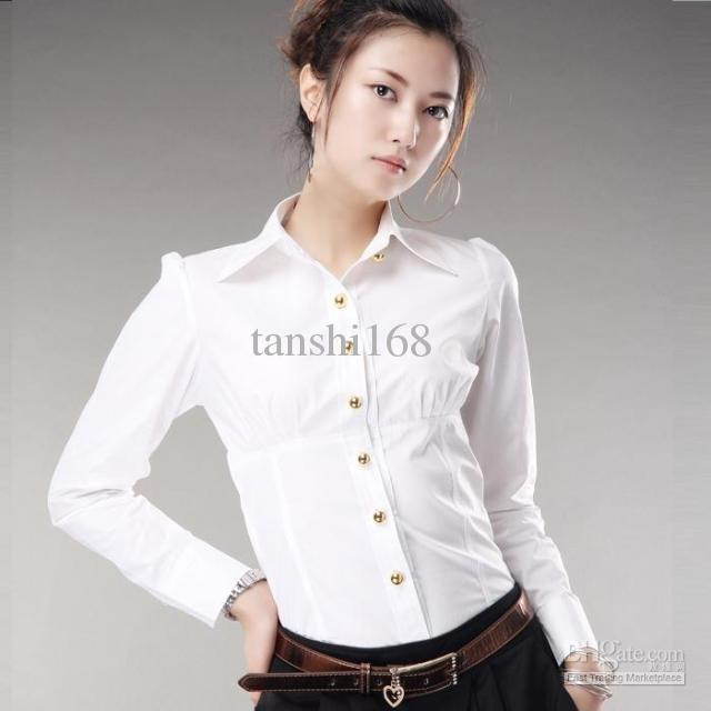 Korean Long Sleeve Shirt Korean Women's Long Sleeve