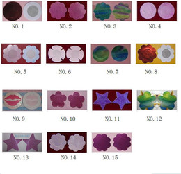 Wholesale 100PCS disposable hot Nipple cover sex bra nipple pacth adhensive nipple pasties nipple pads