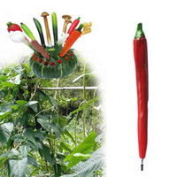 Wholesale Hot Pepper Shaped Ball Pen with Magnetic Fridge Hanger