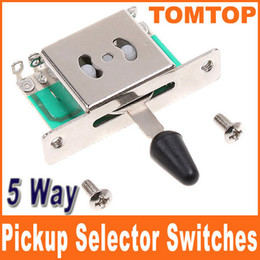 Wholesale 5 Way Pickup Selector Switches for LESPAUL GIBSON SG FLYING TELECAST Electric Guitar I65B