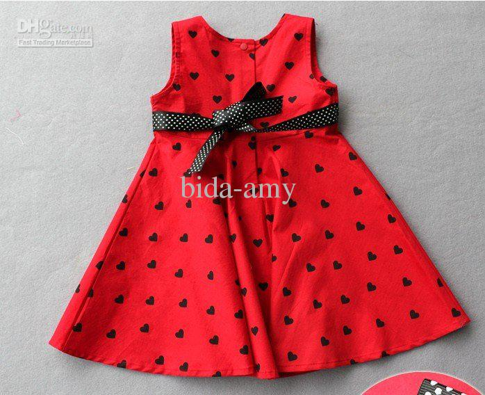 Wholesale high fashion baby and kids clothes overrun dress baby wear